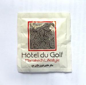 Zucker vom Hotel du Golf