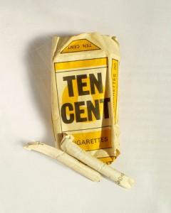 Zigaretten der Einheimischen aus Kenia