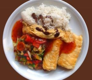 Catfish süß-sauer mit Chat Masala