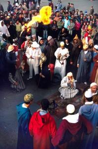 Djemaa-el-Fna Platz in Marrakesch