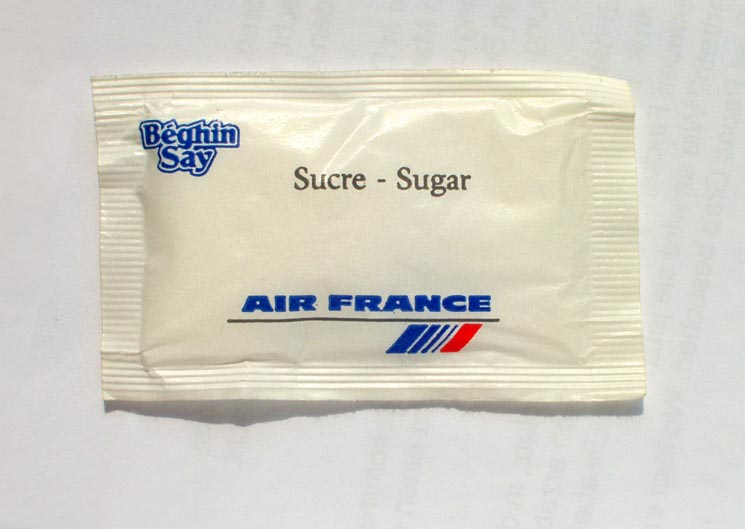 Air France Zucker