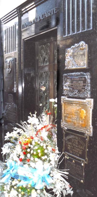 Grab von Evita Peron in Buenos Aires