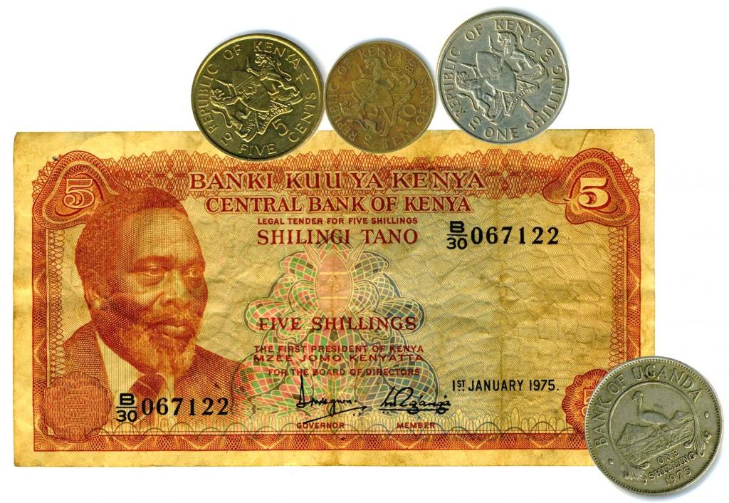 Kenia und Uganda Schilling