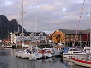 Svolvär Hafen und Hotel