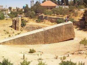 Libanon Baalbek Bekaa Ebene