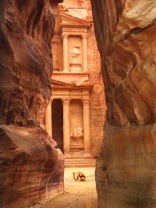 Petra Hauptstadt der Nabatäer in Jordanien