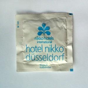 Zucker aus dem Nikko Hotel in Düsseldorf