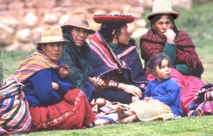 Bolivien-Menschen