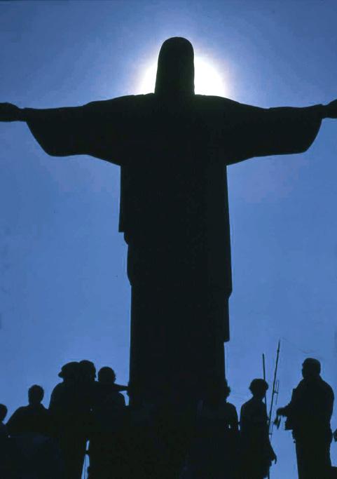 Brasilien Rio De Janeiro Cristo Redentor