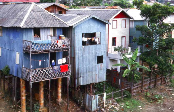 Brasilien-Favela