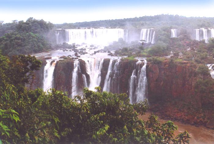 Brasilien-Iguazu Wasserfälle