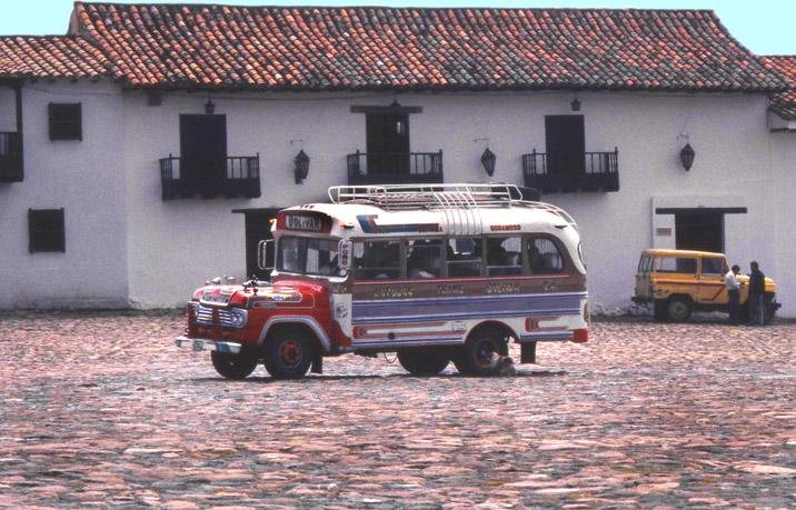 Kolumbien-Buss