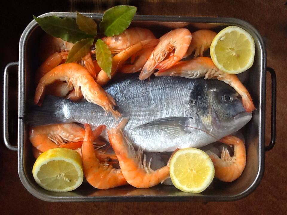 frischer Fisch in Rio