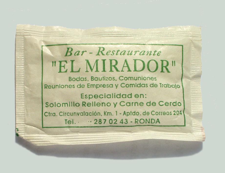 El Mirador Ronda Spanien