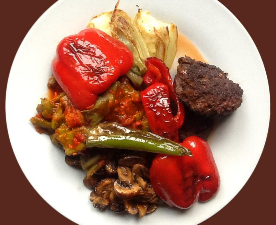 Bifteki, Köfte, Cevapcici
