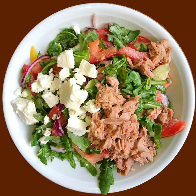 insalata tonno Tunfisch-Schafskäse Salat