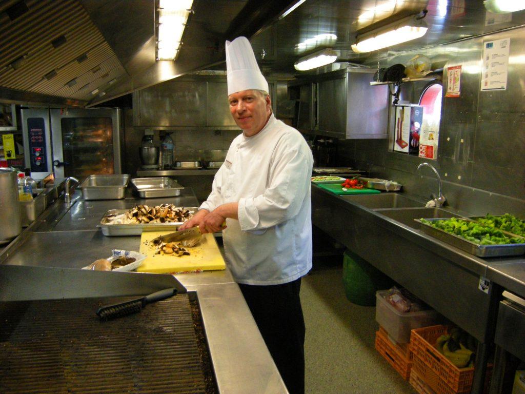 Küchenvisite auf der MS DOURO