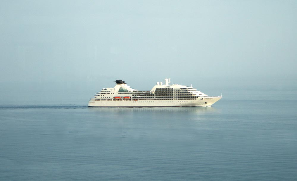 Schiffsküche Mittelmeerkreuzfahrt