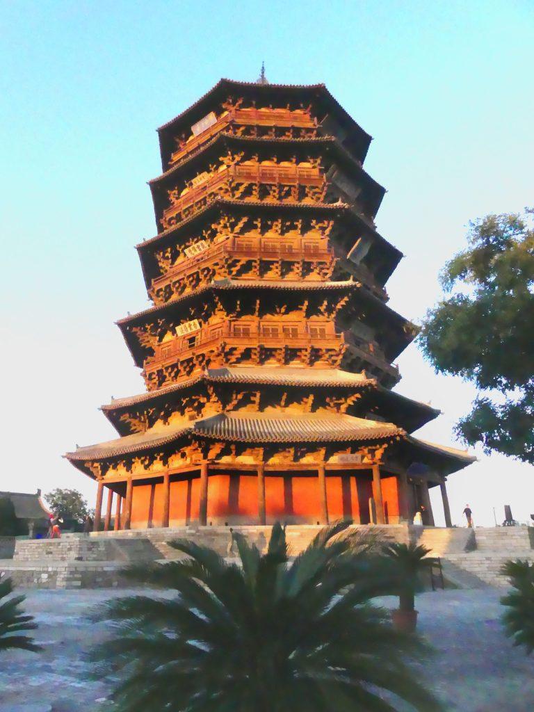 Hölzerne Pagode Datong China