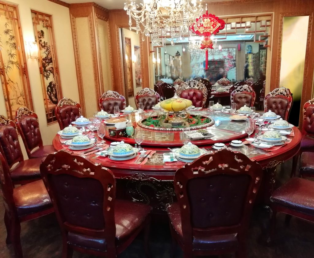 Luxusrestaurant in Peking