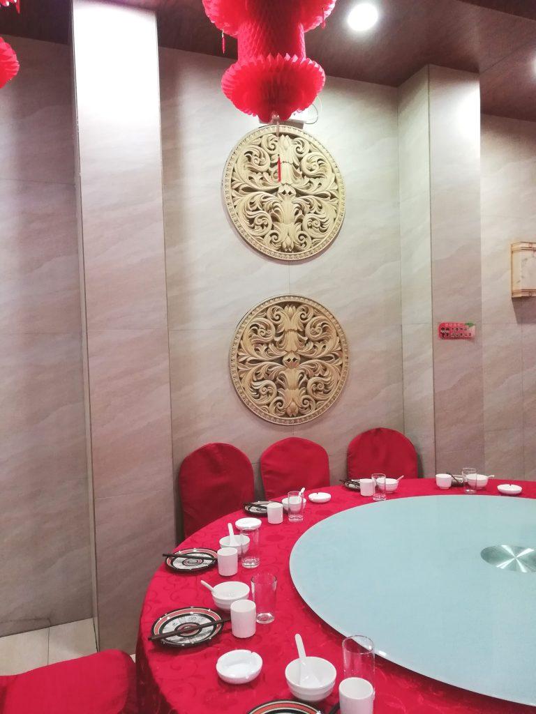 Restauranttisch in China