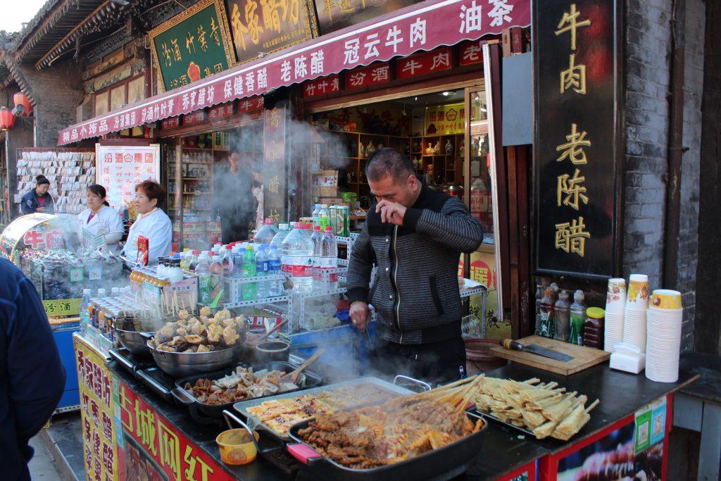 Essensstand in China