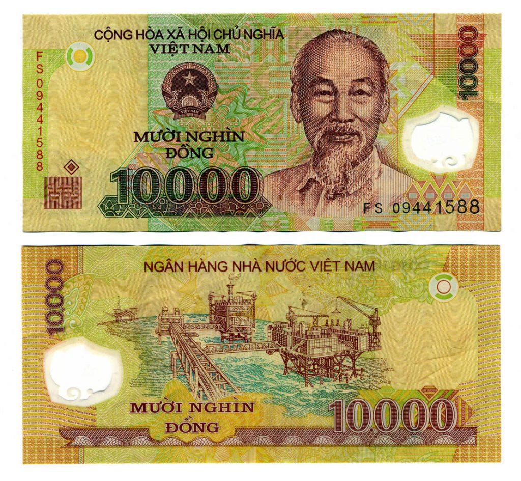 10000 Dong Banknote