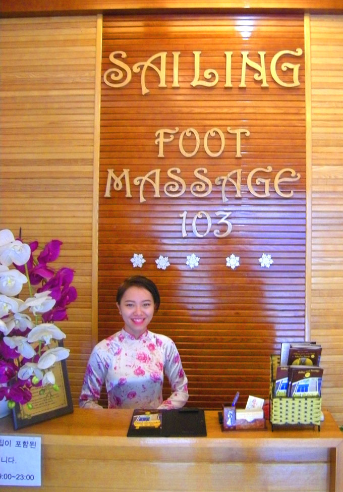 Fussmassage in Ho Chin Minh Stadt