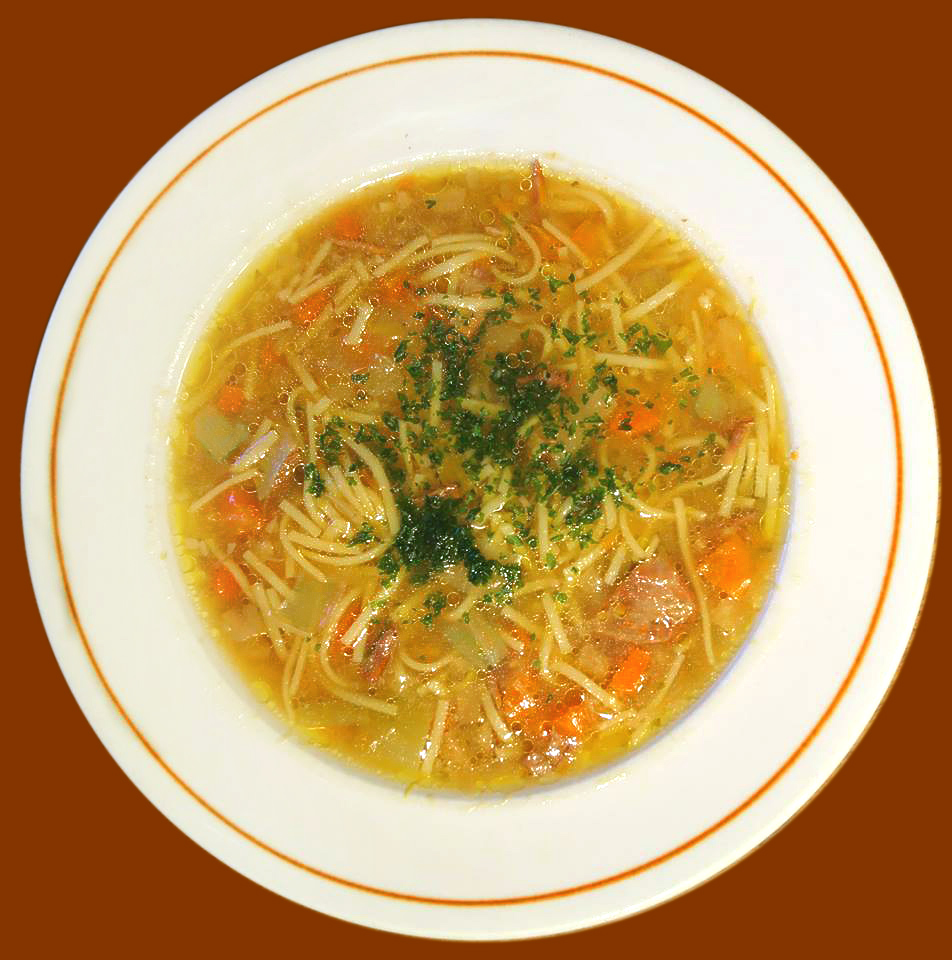 Rindfleischsuppe, Gemüsesuppe